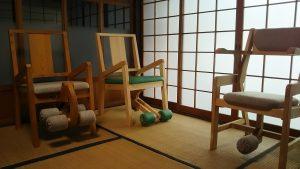 和室とトレーニングチェア